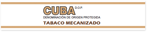 "Seal that identifies the boxes of machine-made cigars ""tabaco mecanizado"" produced in Cuba. Those are not Habanos"